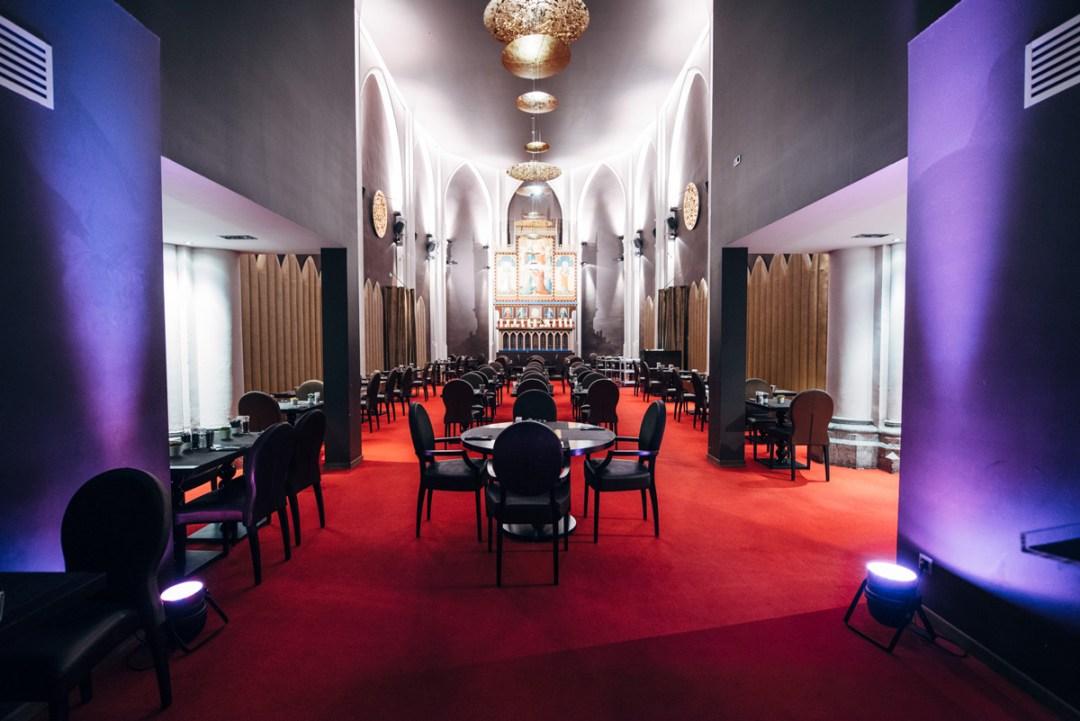 église aménagée en hotel belgique