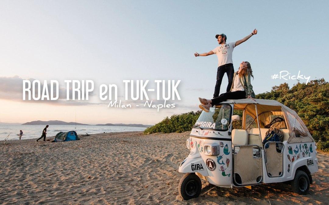 L'ITALIE en TUK TUK | Un ROAD TRIP pas comme les autres!