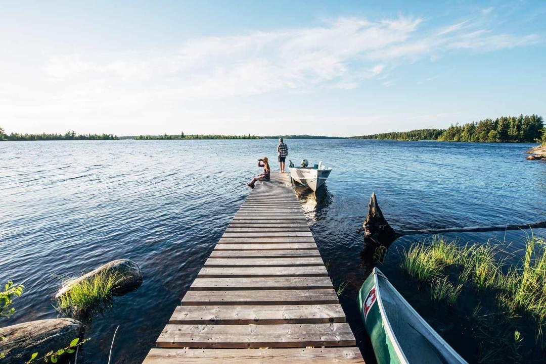beau lac canada