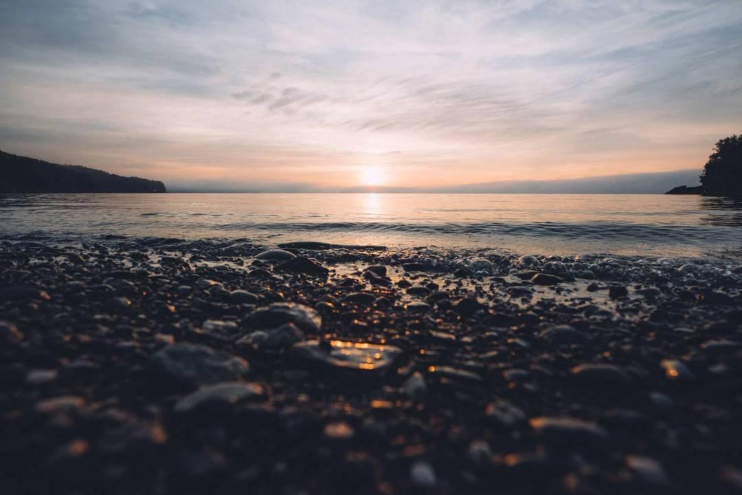 fundy national park sunrise