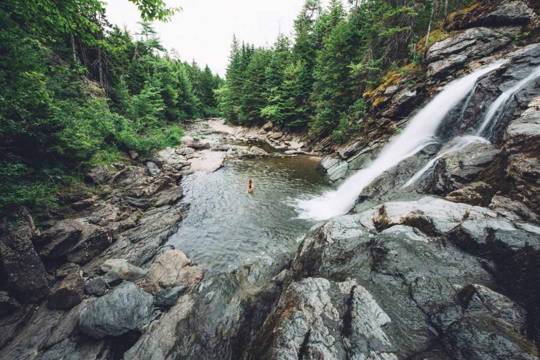 cascade fundy parc national