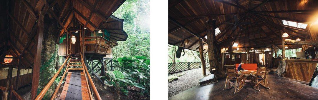 cabane dans les arbres costa rica