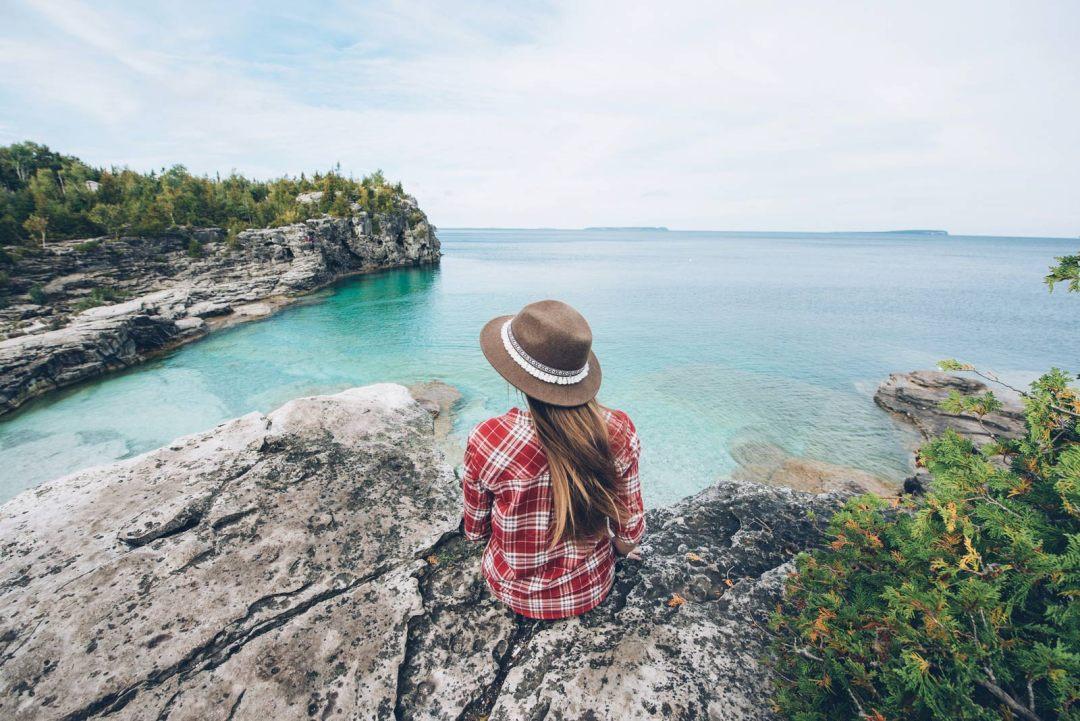 Indian Head Bruce Peninsula Park Ontario