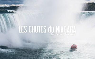 CANADA   UNE JOURNÉE AUX CHUTES DU NIAGARA
