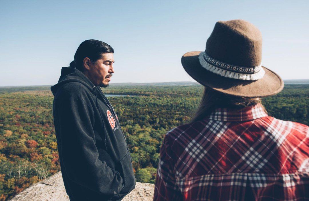 Great Spirit Circle Trail Graig guide manitoulin