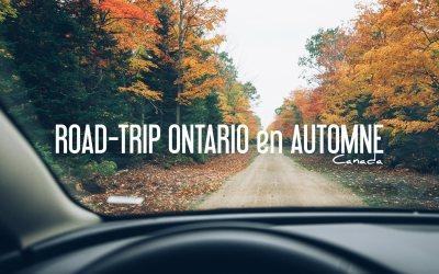 CANADA   ROAD TRIP ONTARIO EN AUTOMNE