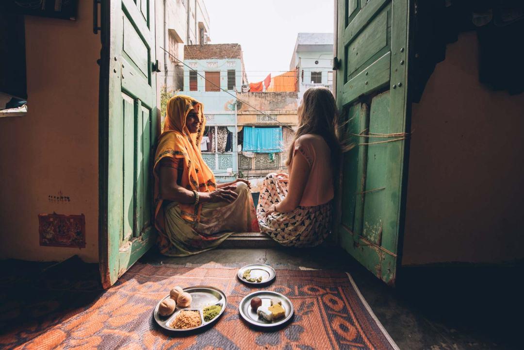 dejeuner chez l'habitant jaipur