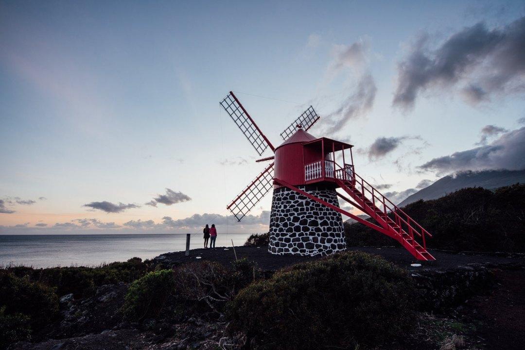 moulin portugal acores