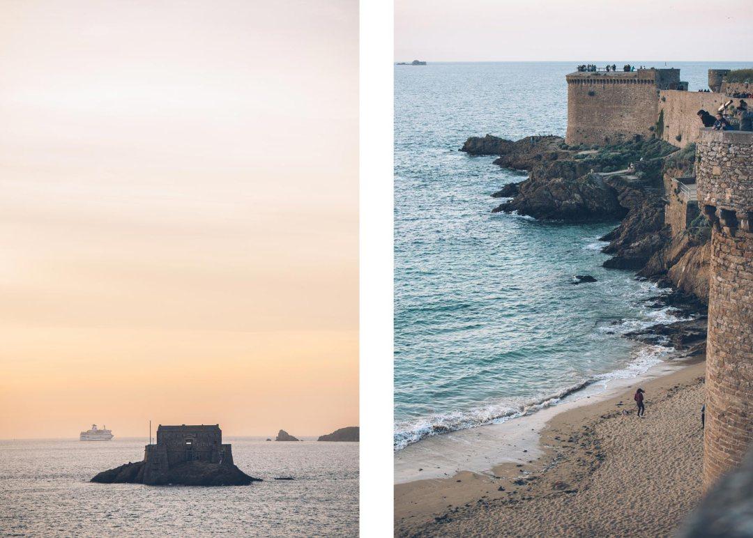 Remparts de Saint Malo, Bretagne, France