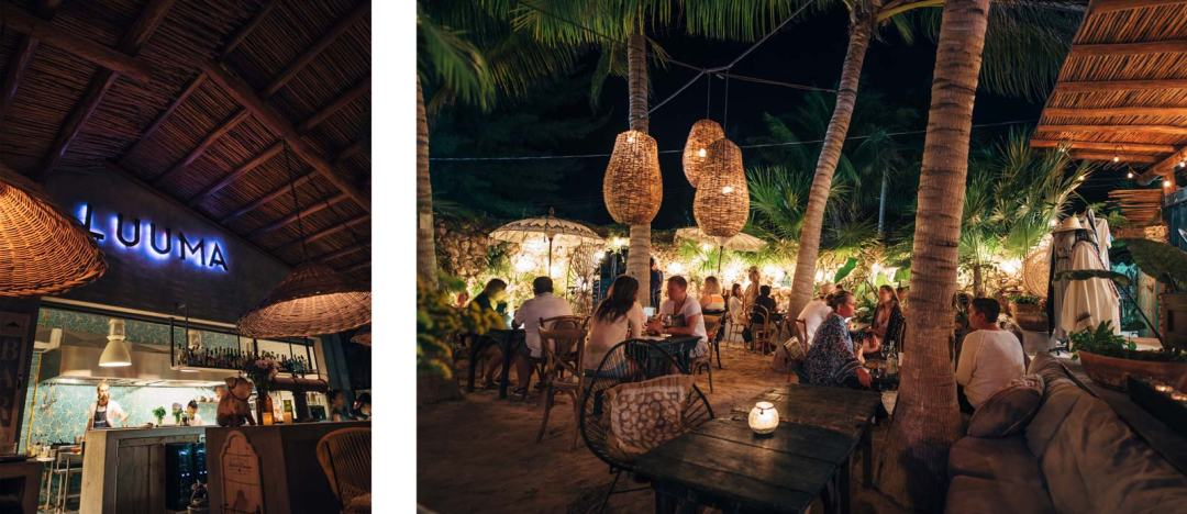Luuma Restaurant, Holbox, Mexique