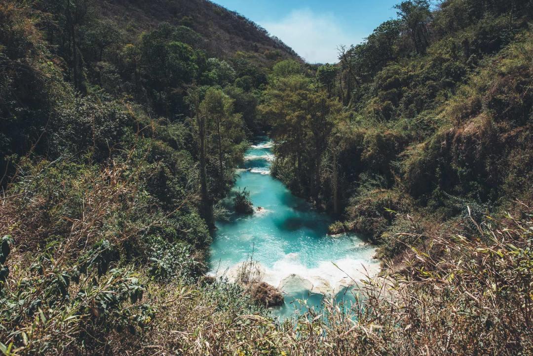 El Chiflon, Chiapas, Mexique