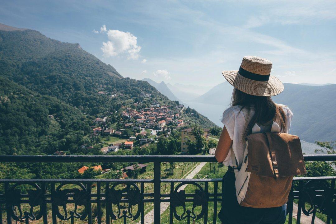 Le petit village de Brè, Lugano