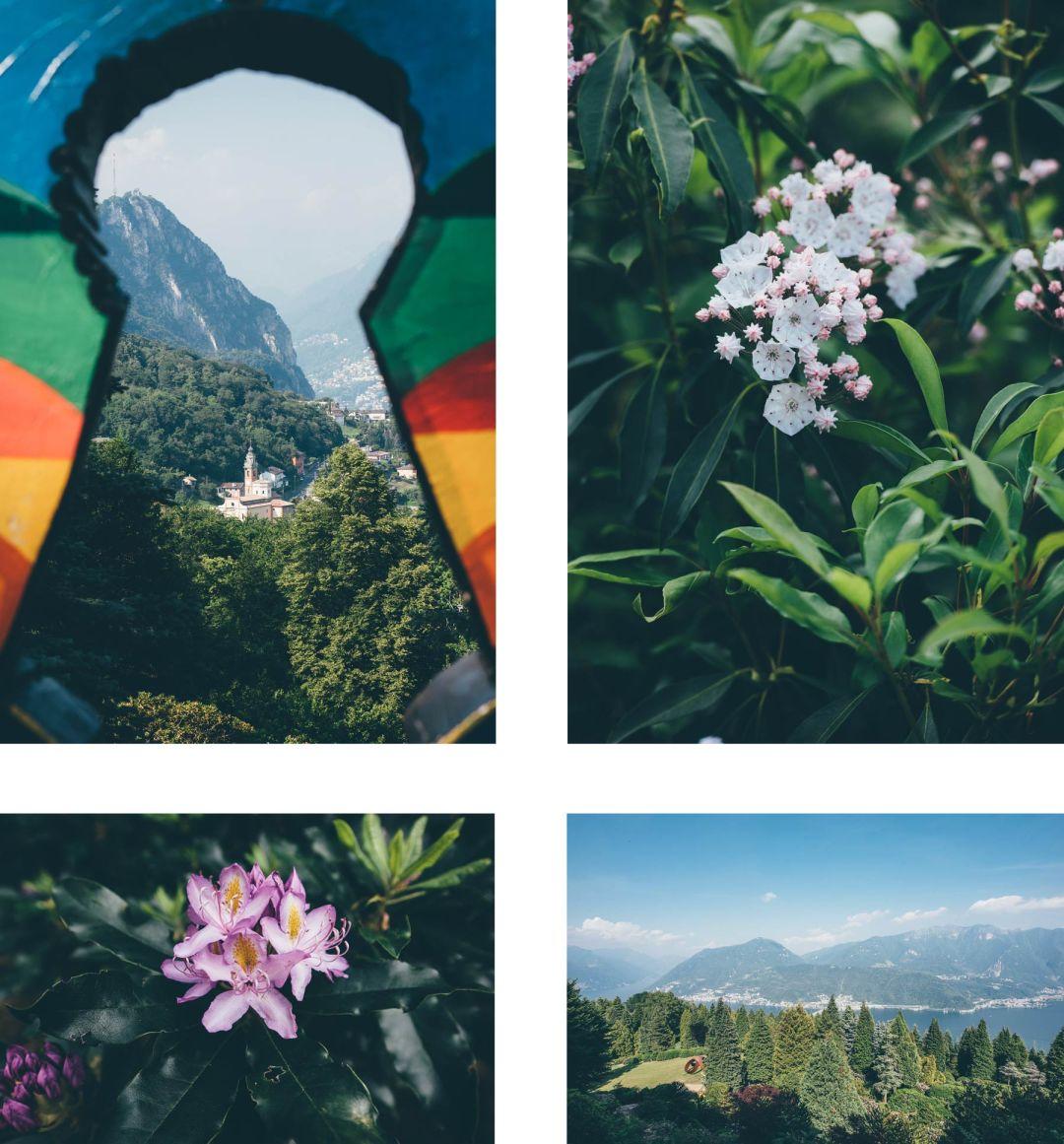 Parc San Grato, Lugano, Suisse