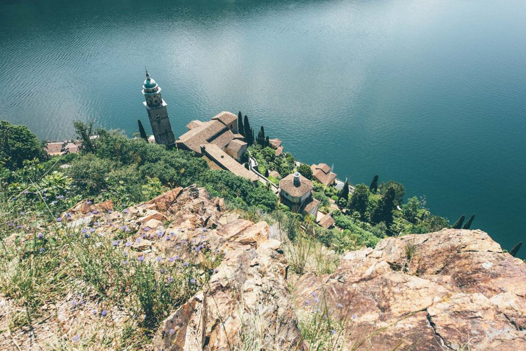Morcote sur le lac de Lugano