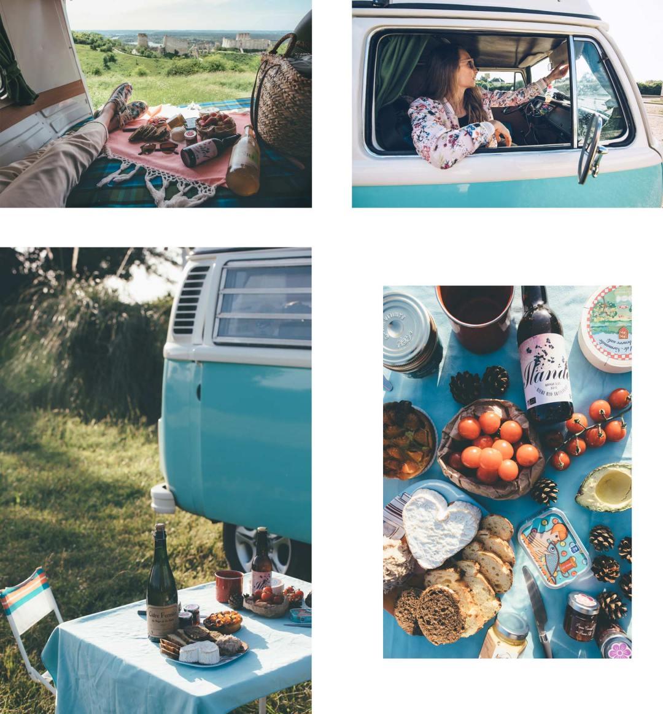 Road trip en Van Volkswagen