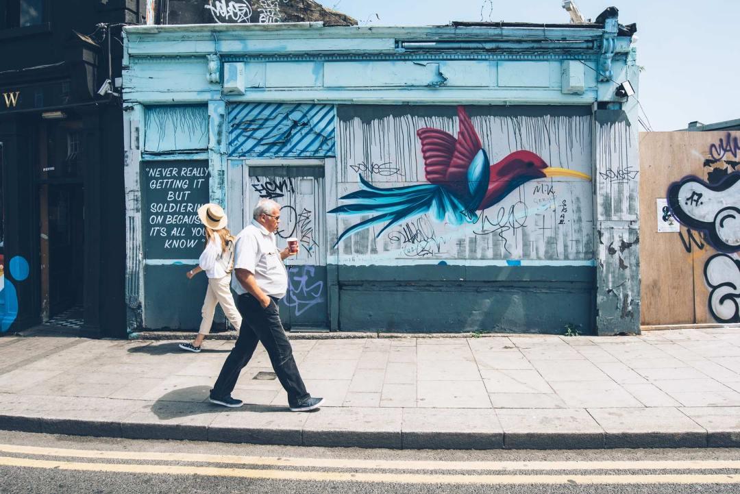 Graffiti, The Bernard Shaw, Dublin