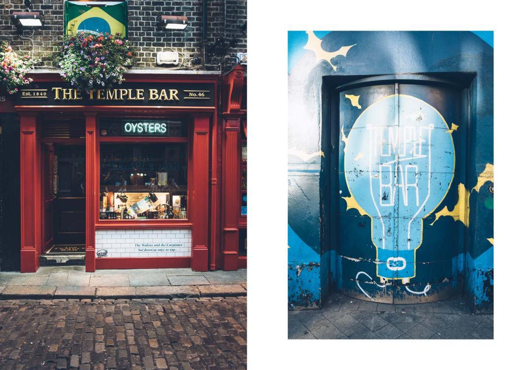 Que faire à Dublin? Temple Bar, un incontournable!