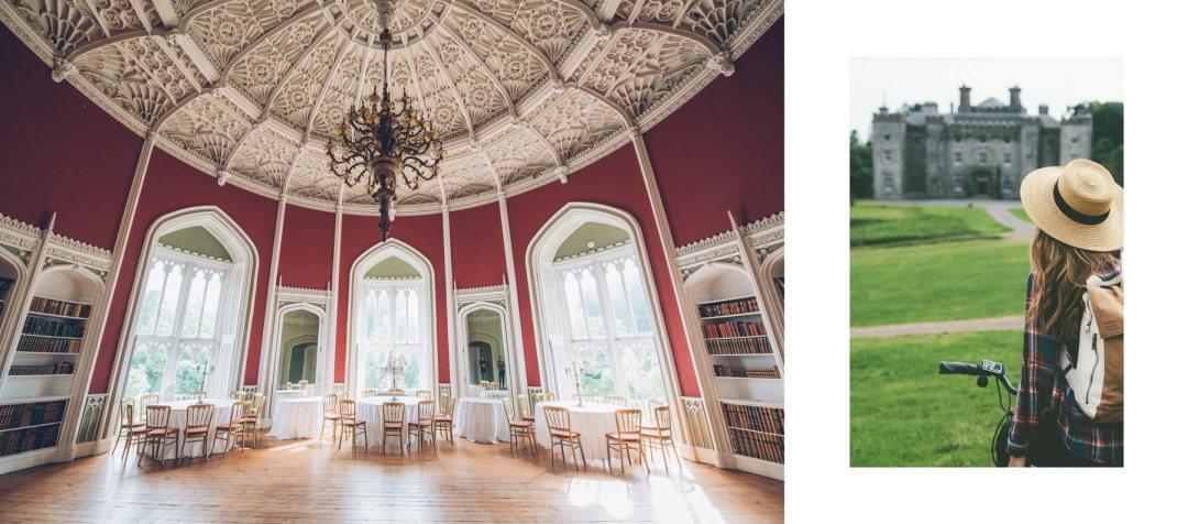 Visiter le chateau de Slane, Irlande