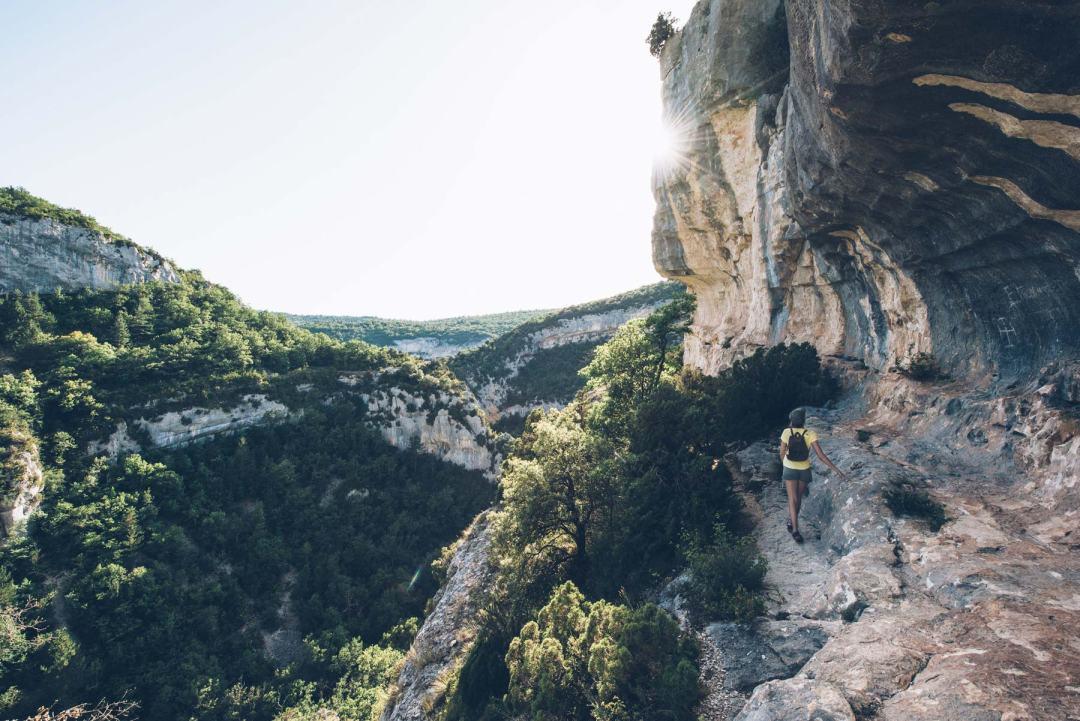 Les Gorges de la Nesque, Vaucluse, Provence