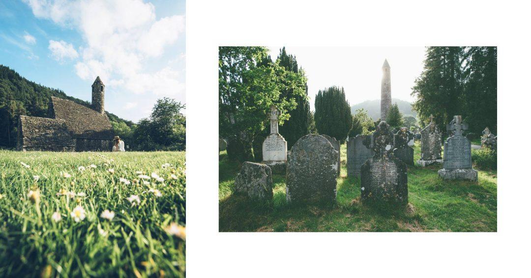 Le site Monastique de Glendalough, Irlande