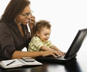 Working Mom From Home