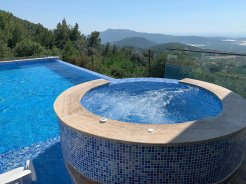 Villa Hilal with private pool for rent uzumlu kalkan