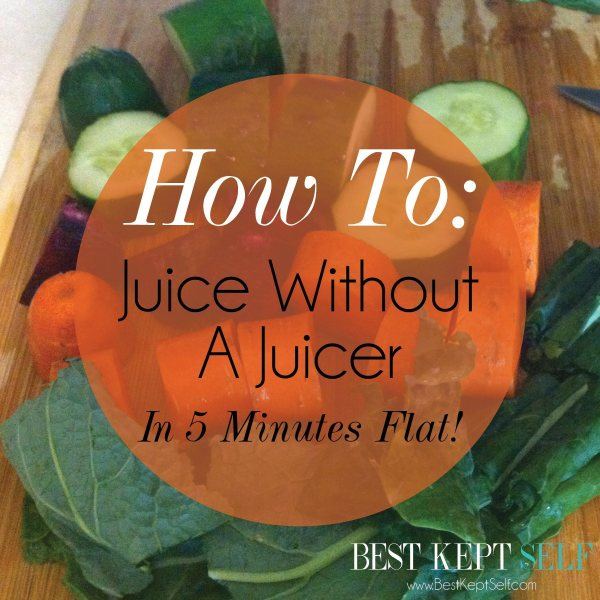 juice without juicer