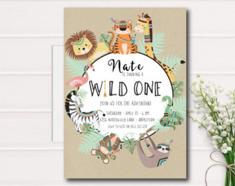 wild one invitation