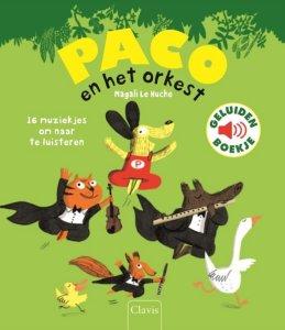 PACO en het orkest geluidenboekje