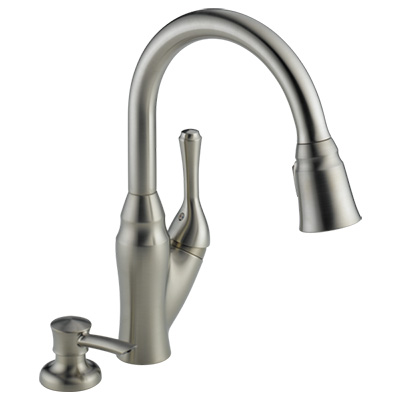 delta 16971 dst pull down faucet review