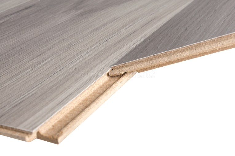 Can I nail laminate flooring down to the subfloor  Laminate flooring installs with a click and lock system