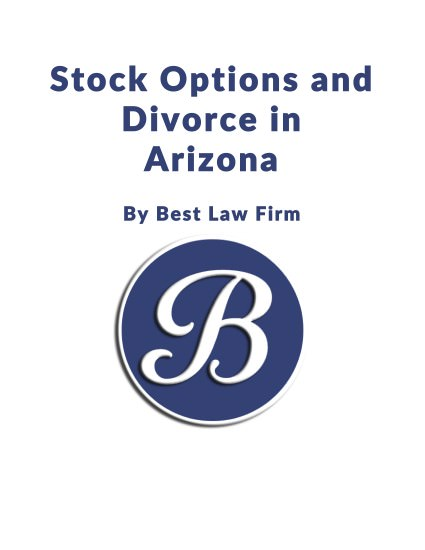 Stock options et divorce