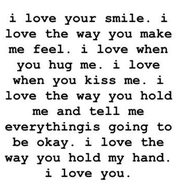 Best Love Quotes I Love Your Smile Galaxies Vibes