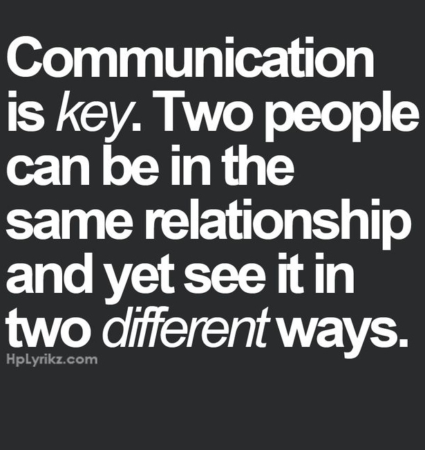 communication in the beginning of a relationship
