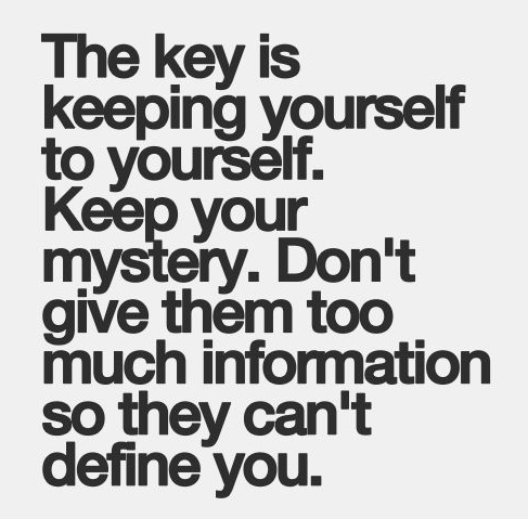 Best Love Quotes The Key Is Keeping Yourself To Yourself Keep Your