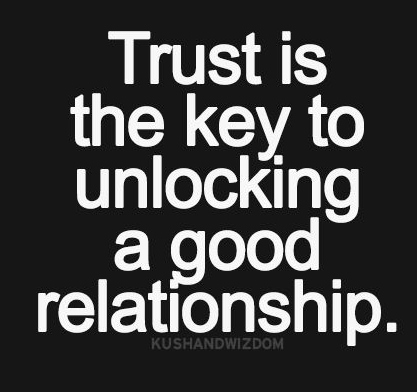 Quotes About Trust And Love In Relationships Glamorous Trust Is The Key To Unlocking A Good Relationship  Galaxies Vibes