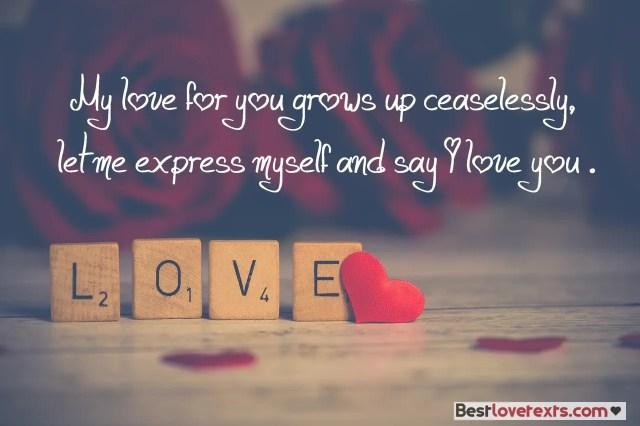 Romantic Love Messages - Best Love Texts