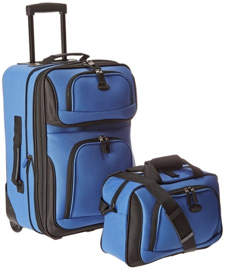 US Traveler Rio Two Piece Expandable Carry-On Luggage Set Review