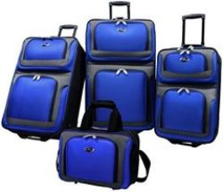 US Traveler New Yorker 4 Piece Luggage Set Expandable Review