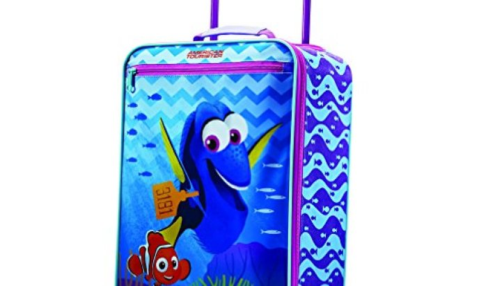 "American Tourister Disney Finding Dory 18"" Upright Softside"