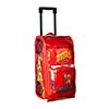 Disney Lightning McQueen Rolling Luggage Red