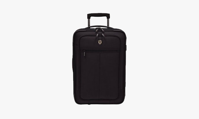 Travelers Choice Siena 2-In-1 Hybrid Hard-Shell Carry-On Wheeled Garment Suitcase
