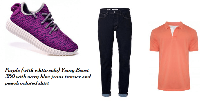 4 Stylish ways to Wear Adidas Yeezy Boost 350 Sneakers with jeans trousers