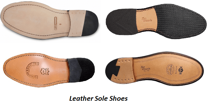 Benefits of Leather Sole Shoes