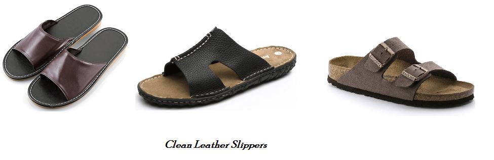How to Clean Leather Slippers