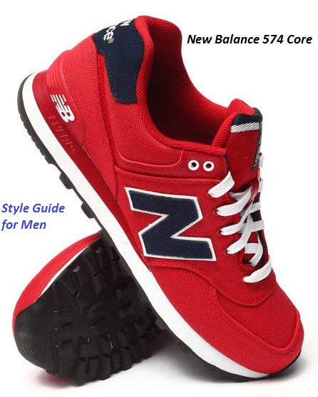 New Balance 574 Core Style Guide for Men