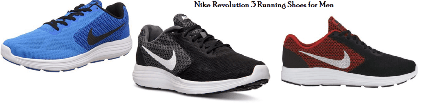 Key Features and benefits of the Nike Revolution 3 Running Shoes for Men