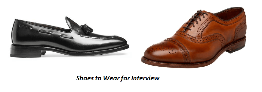 Shoes to Wear for Interview