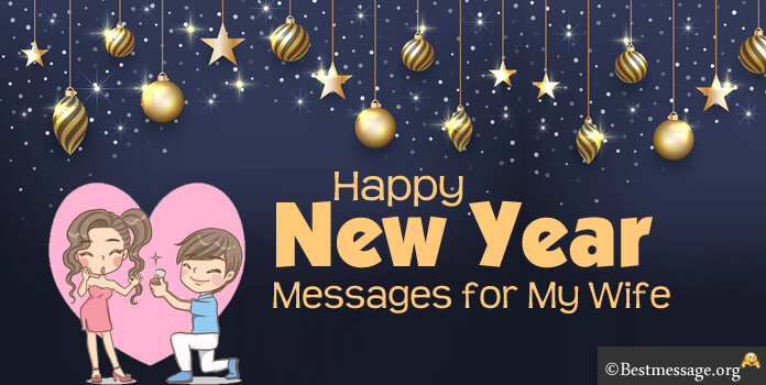 Romantic Happy New Year Messages For My Wife  New Year Wishes 2018 Romantic New Year Messages For My Wife
