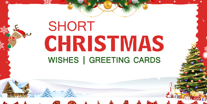 Short Christmas Messages Cards